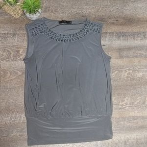 Limited Blouse | Sz S | Gray